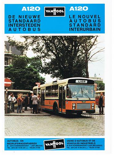 1981 VAN HOOL A120