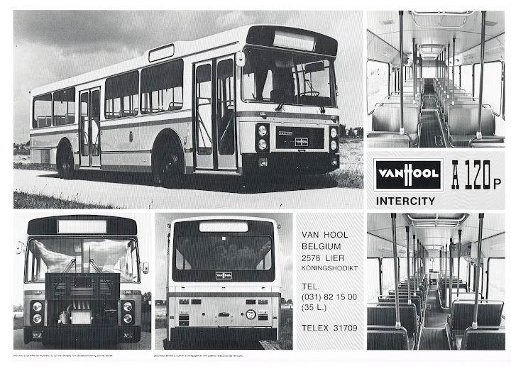 1981 VAN HOOL A120P