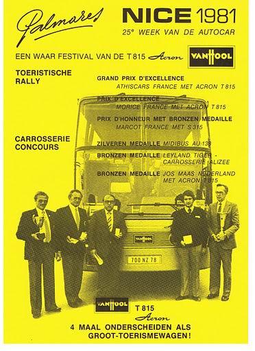 1981 VAN HOOL NICE