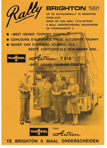 1981 VAN HOOL RALLY BRIGHTON