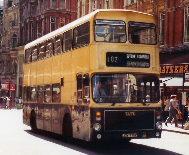 1982 Volvo Ailsa B55 West Midlands PTE bus 4775(JOV 775P) 1976 Volvo Ailsa B55 Alexander AV, Birmingham