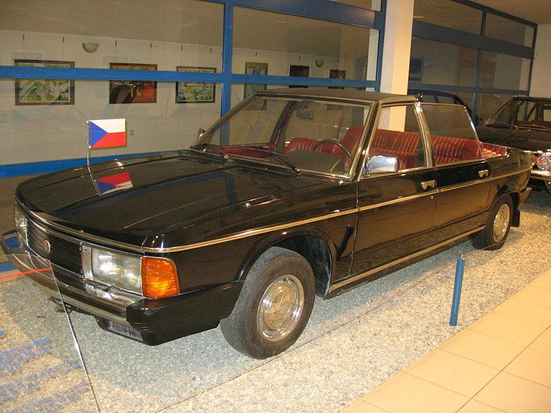 1984 Tatra 613 K, cabrio speciaal voor parades