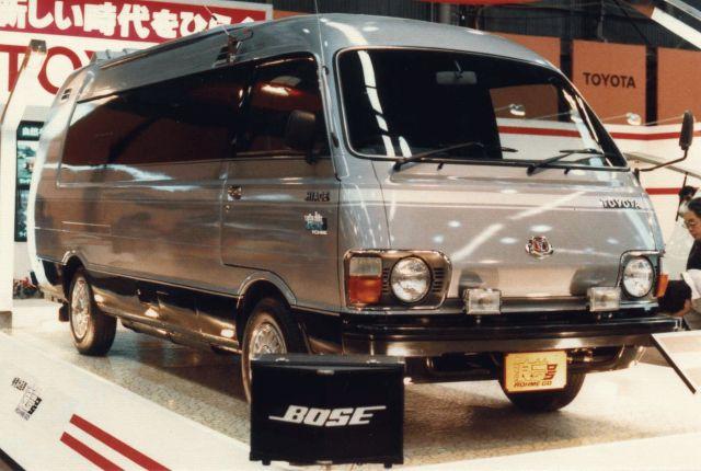 1984 Toyota Hiace Conceptcar 80's