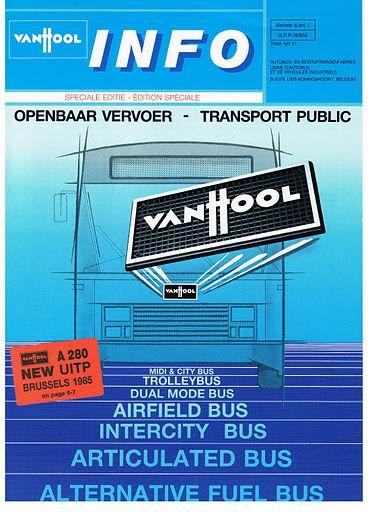 1985 VAN HOOL INFO  nr27