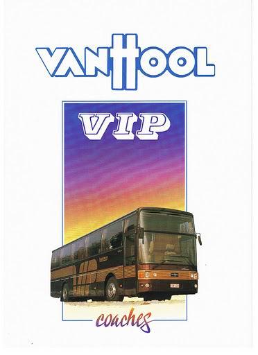 1986 VAN HOOL T800 SERIE VIP