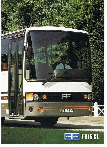 1986 VAN HOOL T815CL