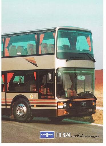 1987 VAN HOOL ASTRONEGA TD824
