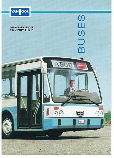 1990 VAN HOOL A500 tot AG700