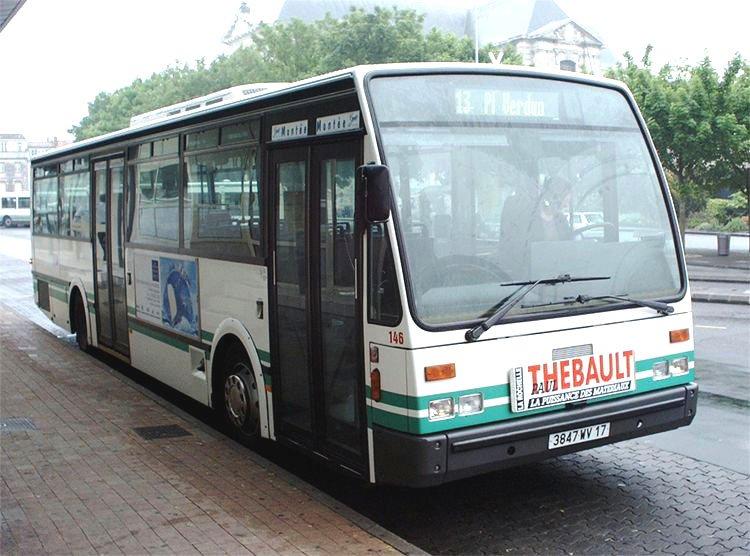 1991 VAN HOOL A600