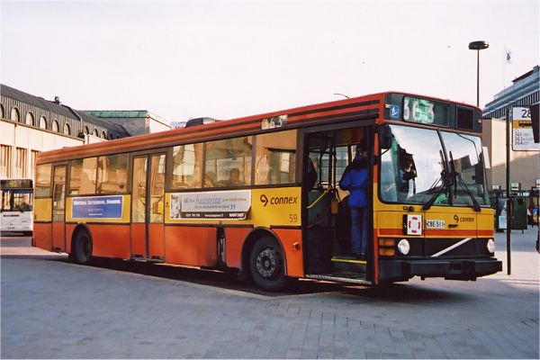 1992 Carrus-Wiima K 202 puolimatala k202 puolimatala cnx01 Volvo