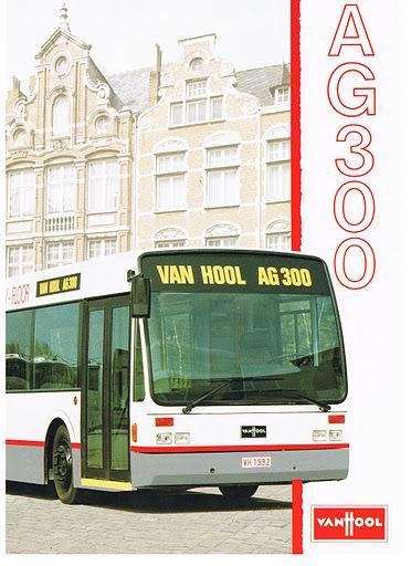 1992 VAN HOOL AG300