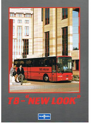 1992 VAN HOOL T815 ALICRON RAI