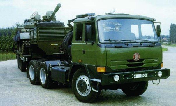 1993 Tatra T815-24EN34 Terr № 1, 6x6