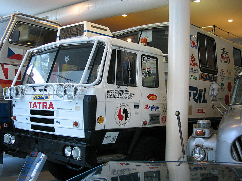 1994 Tatra 815 van de expeditie Live Afrika