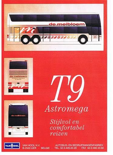 1997 VAN HOOL T924 ASTROMEGA Busworld