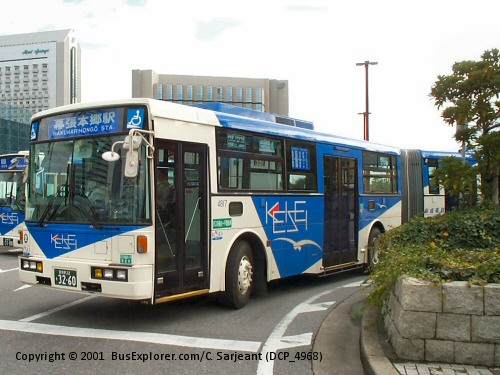 1998 Keisei Volvo Fuji-1 Volvo B10M-FHI 7E Articulated Bus