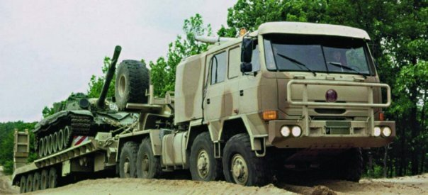 1998 Tatra T816-6VWN9T Force, 8x8