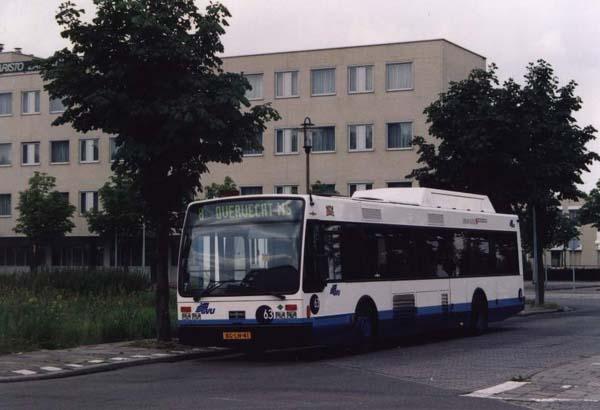 1998 Van Hool A 300 ( Wagen 60 is ook leswagen )