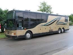 1999 Van Hool 945 Motor Coach Bus