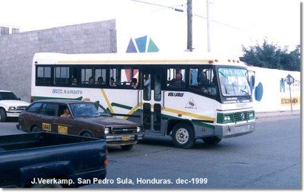 1999 Volkswagen Volksbus-Rosmo Bus Honduras