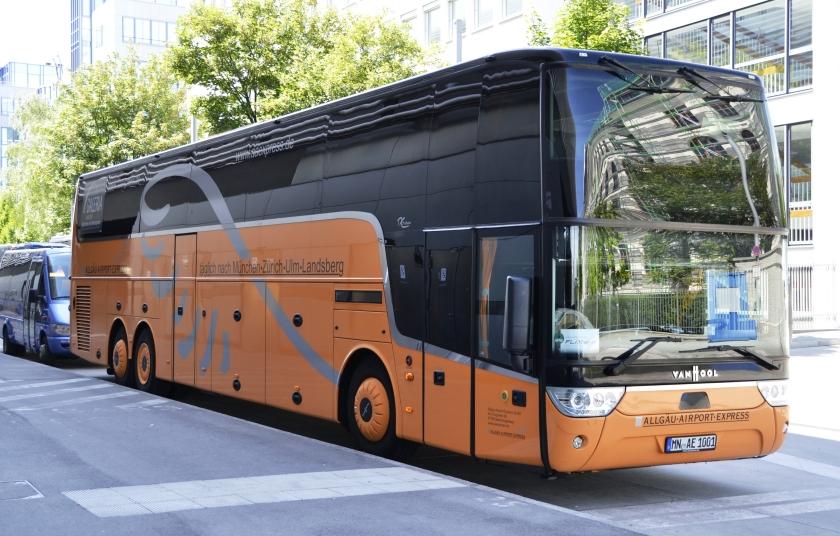 2000 Van-Hool-Bus in München