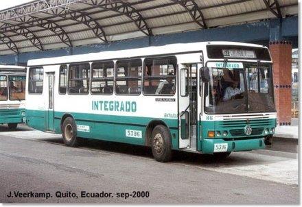 2000 Volkswagen 16.210 CO-Marcopolo Torino GV Bus Ecuador