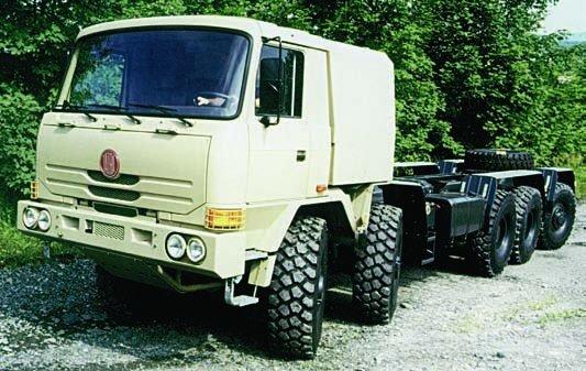 2001 Tatra T816-6ZVR8T Force, 10x10