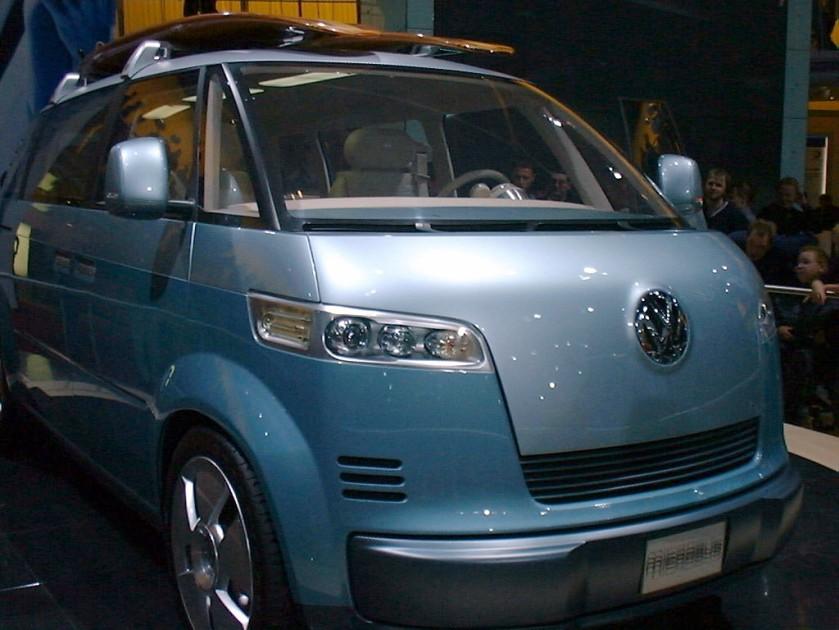 2001 Volkswagen Microbus Concept.