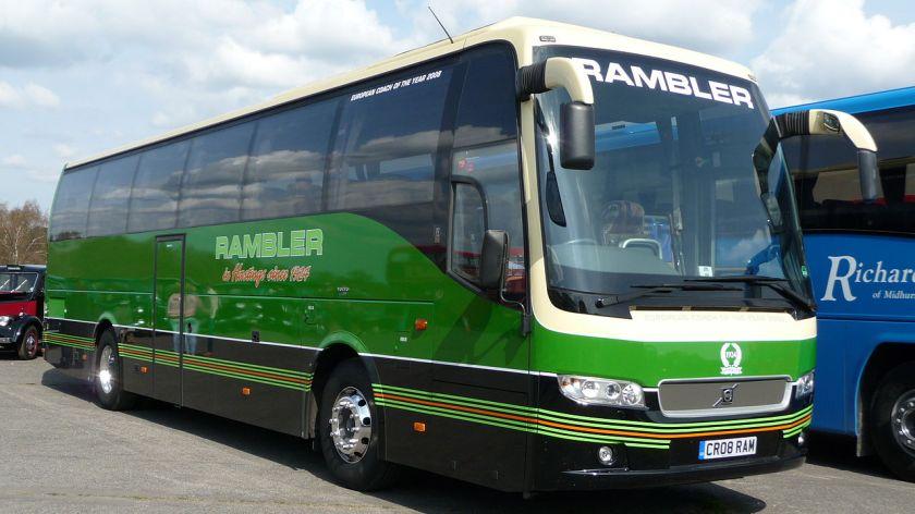 2002-11 Volvo 9700 med B12B-chassi Rambler CR08 RAM