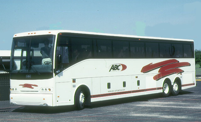 2002 ABC Bus Van Hool 45-foot demonstrator coach