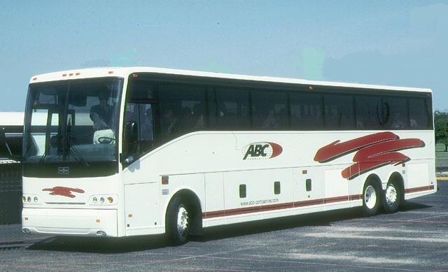 2002 ABC Bus Van Hool 45-foot demonstrator coach
