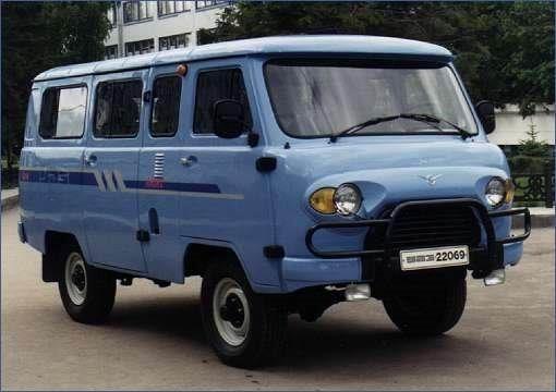 2002 UAZ-22069 nieuw