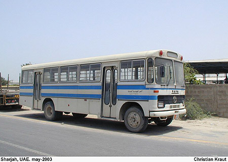 2003 Tata bus Abu Sharjah