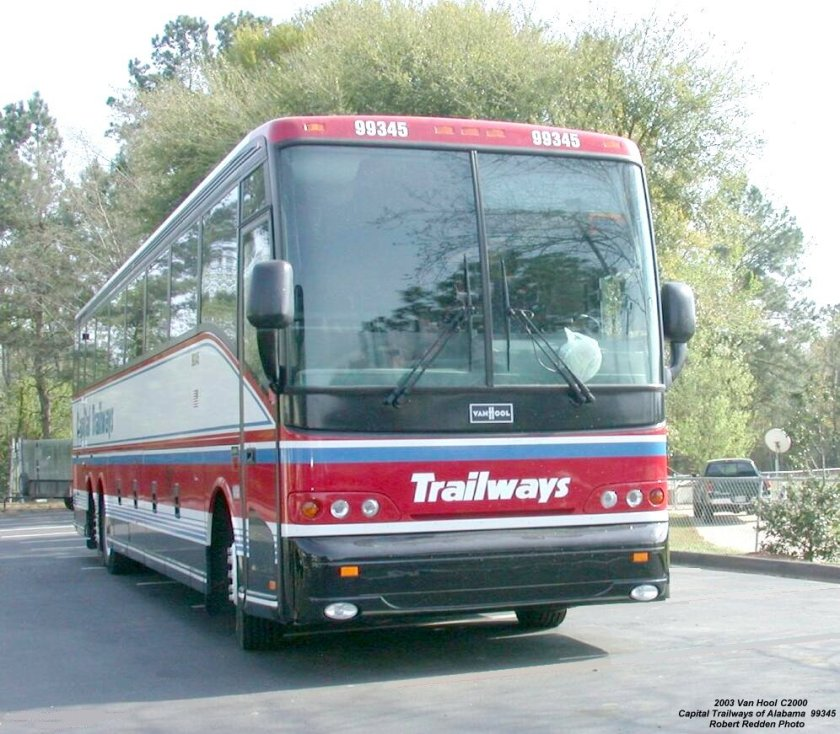 2003 Van Hool C2000 capital Trailways of Alabama