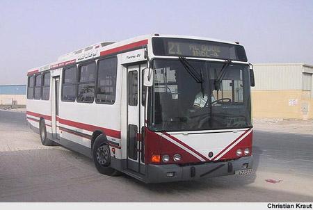 2003 Volvo B10M-Marcopolo Torino Bus Dubai