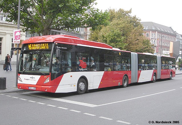 2004 Van Hool AGG300-Doppelgelenkbus-ASEAG-195