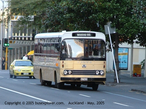 2005 Volvo -Coachwork Bus Auckland New Zealand