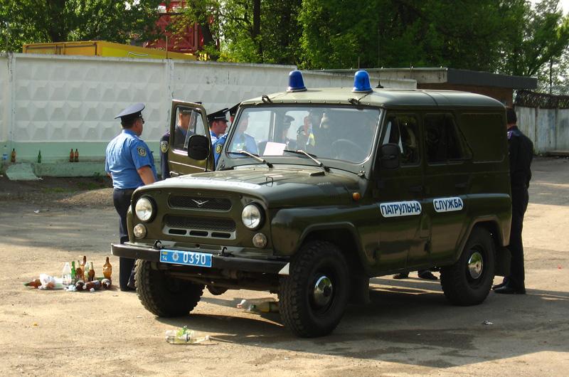 2008 Ukrainian police UAZ-3151 UMM