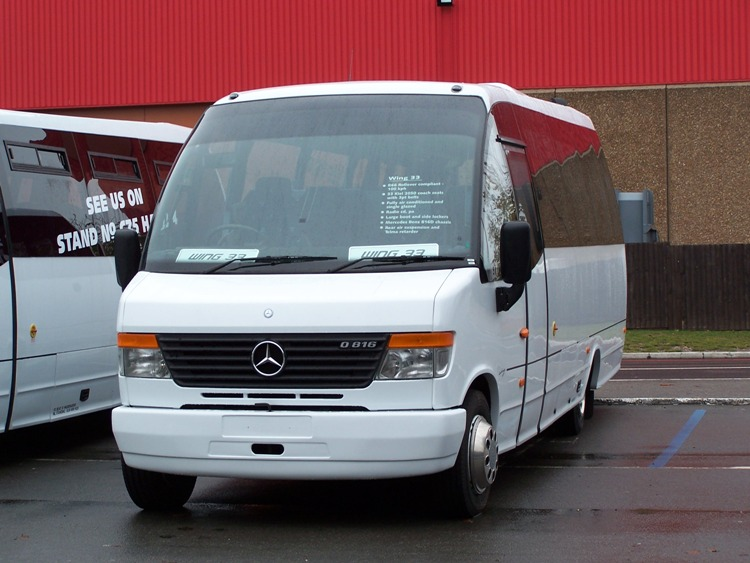 2008 Unvi Wing 33 Mercedes UK