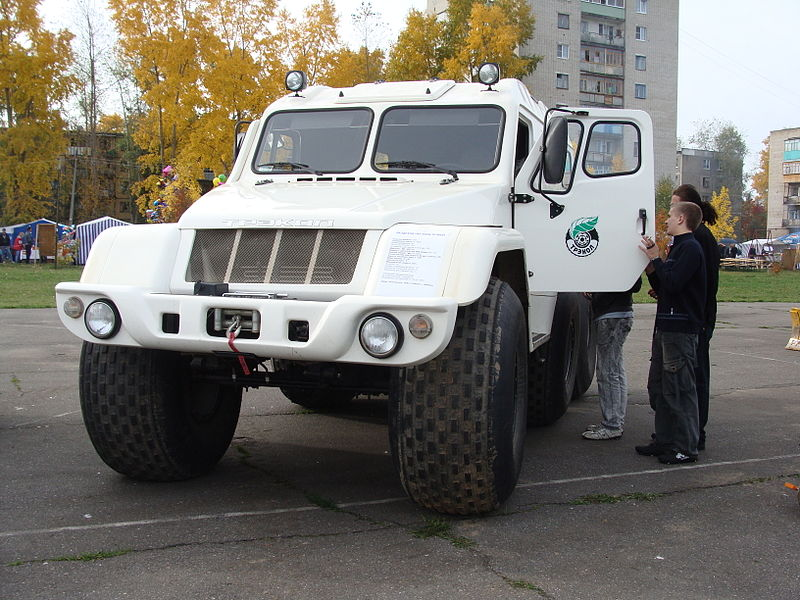 2010 Cross-country vehicle UAZ-39294 «TREKOL»