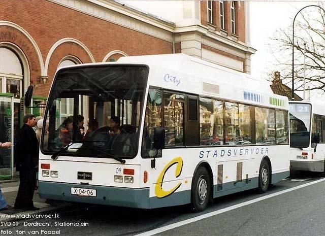 2010 Van Hool proef-citybussen hybride-aandrijving SVD09