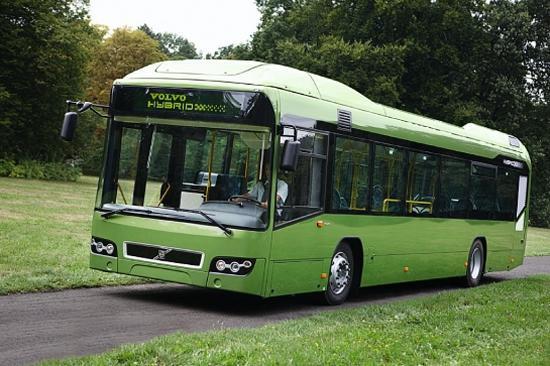 2010 Volvo Hybrid Bus