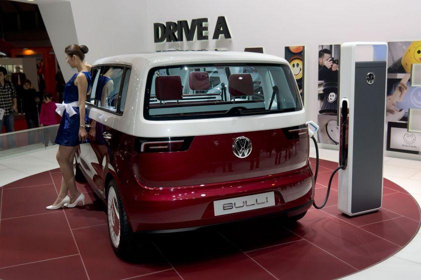 2011 Volkswagen Bulli rear 2011 Tokyo Motor Show
