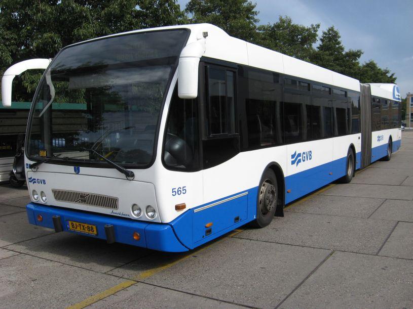 2011 Volvo Geledebus GVB A'dam a