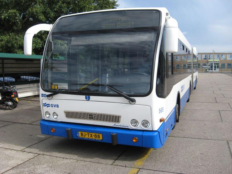 2011 Volvo Geledebus GVB A'dam
