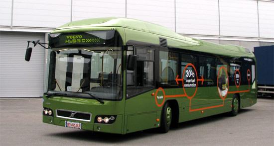 2012 Volvo 7700 hybride