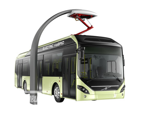 2014 Volvo Buses Launches the All-new Plug-in Electric Hybrid Bus