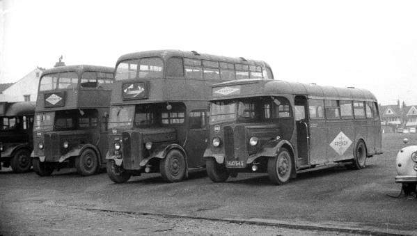 AEC Regal with Weymann B45F body