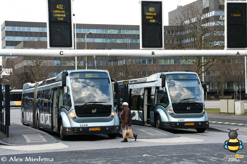APTS Phileas Duo Busstation Eindhoven