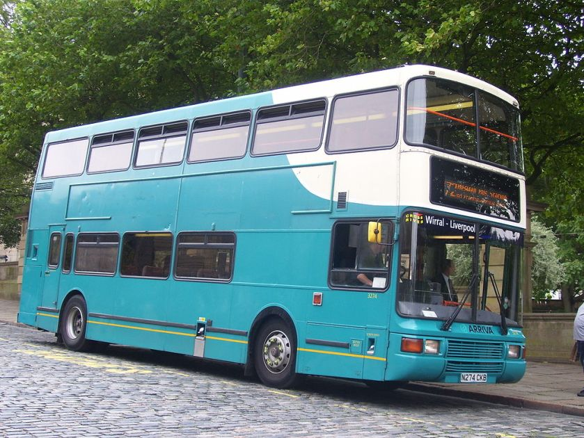 Arriva North West and Wales 3274